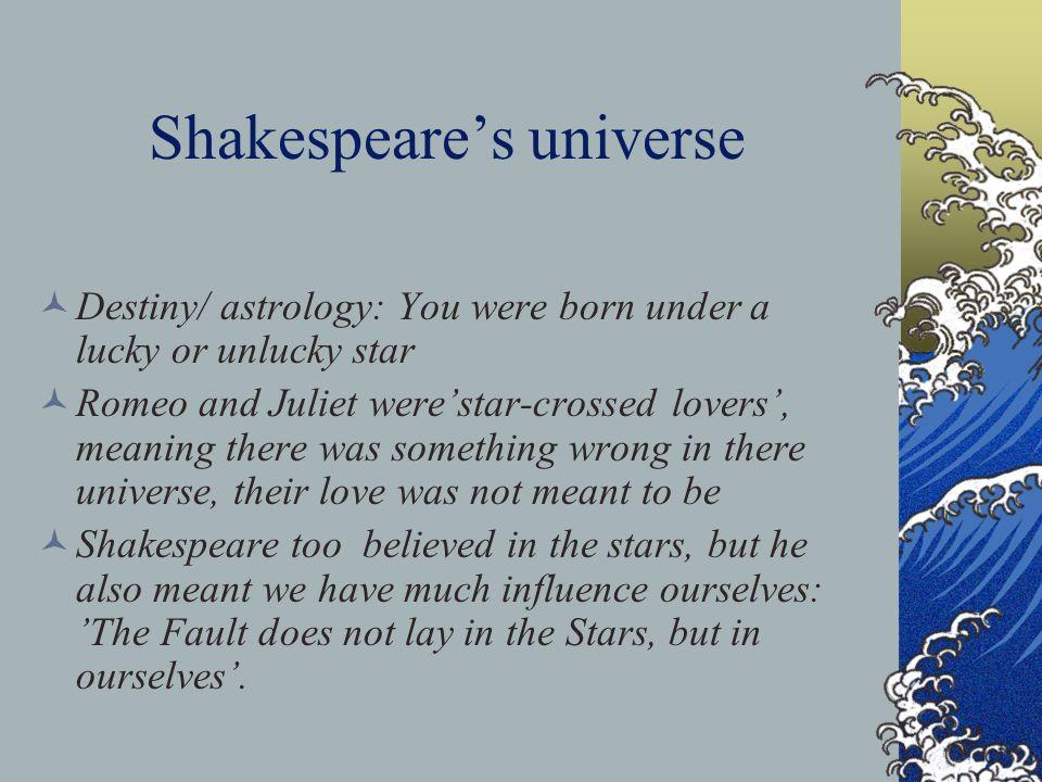 Romeo and Juliet: Fate vs Destiny?