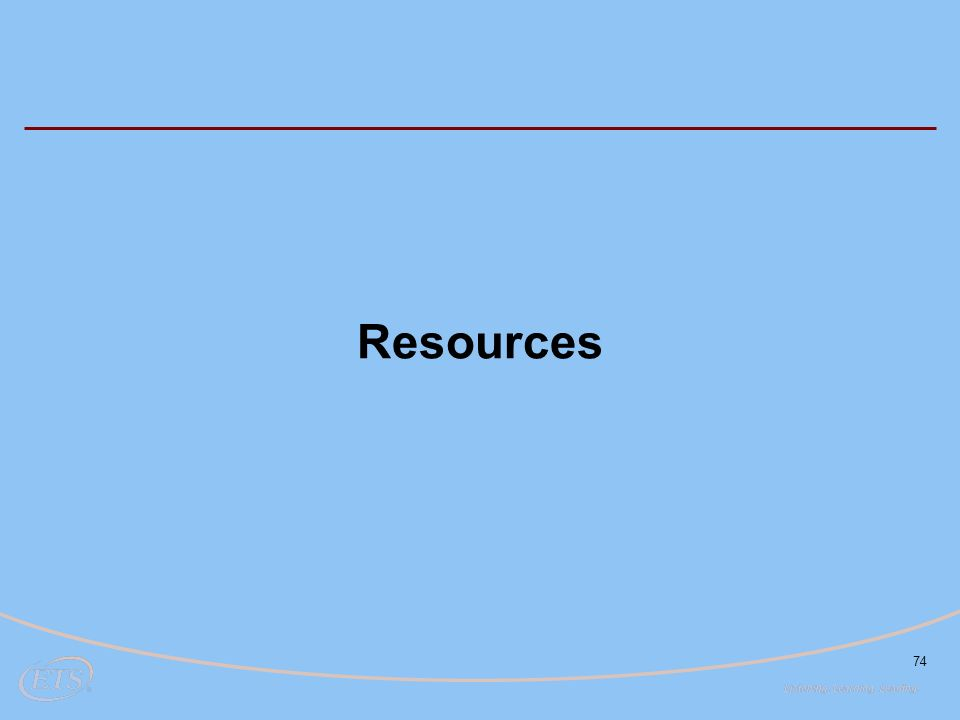 74 Resources