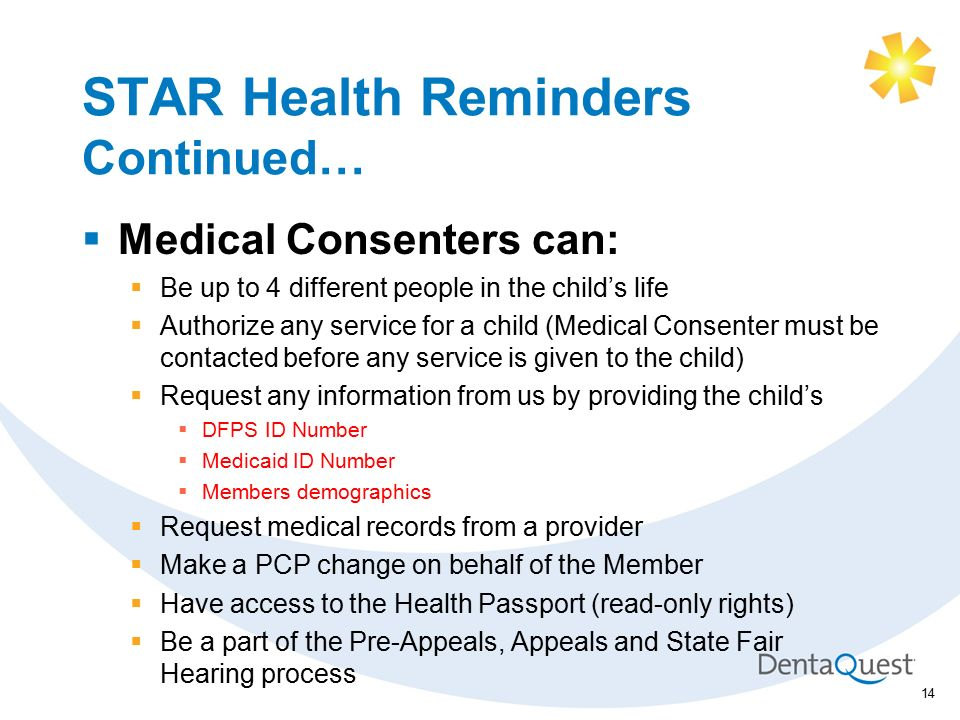 DentaQuest / Superior Health Plan Training STAR Health (Foster ...