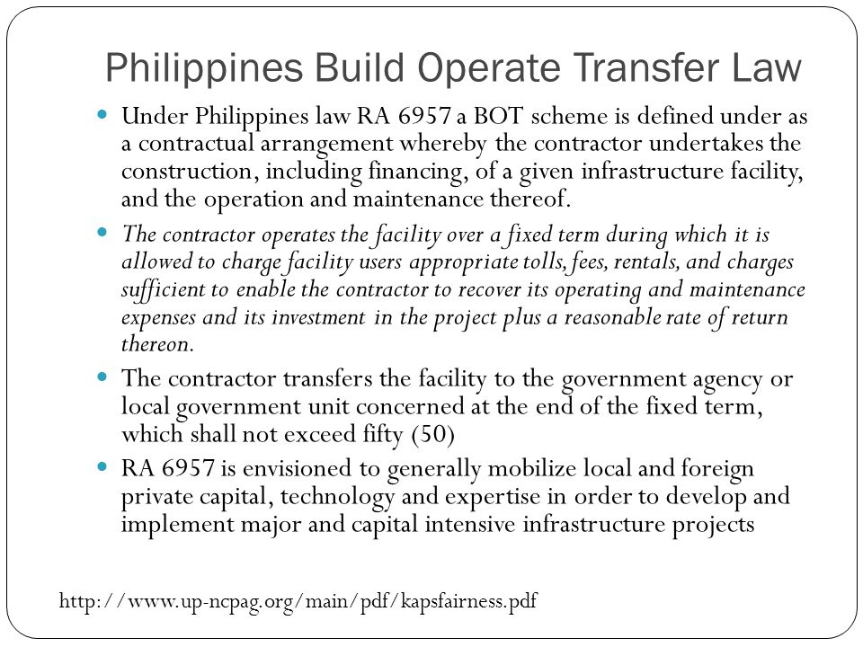 toll operate transfer