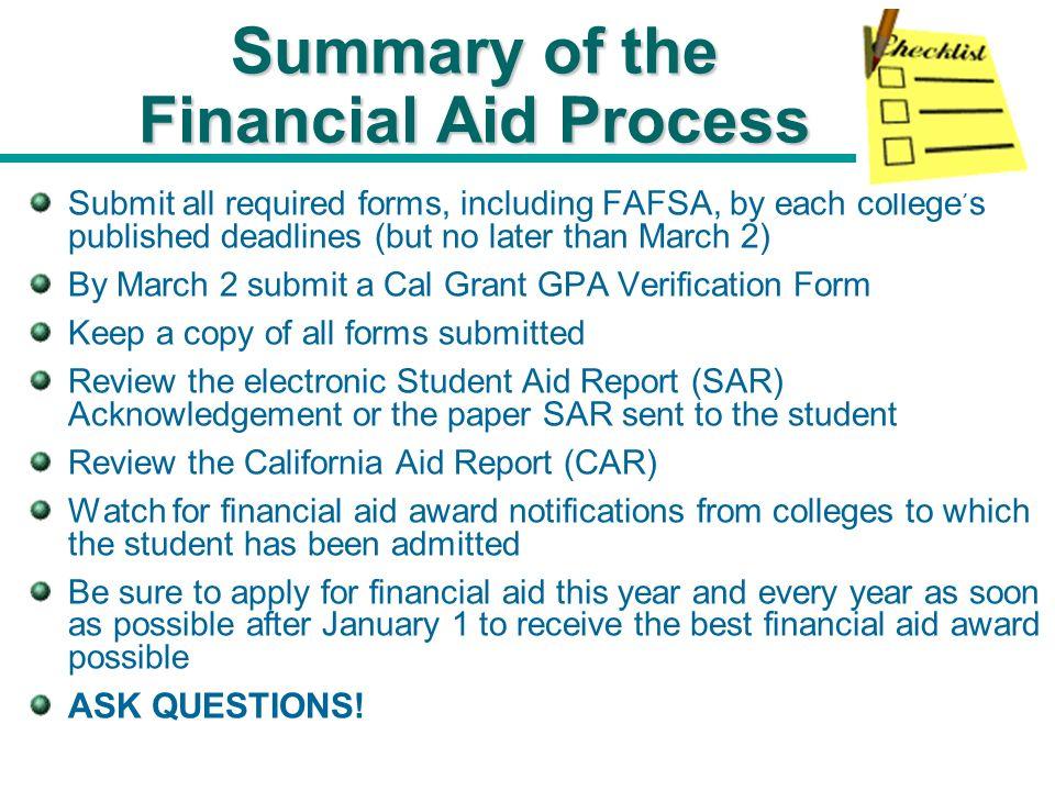 Applying for Financial Aid Applying for Financial Aid Mt. San ...