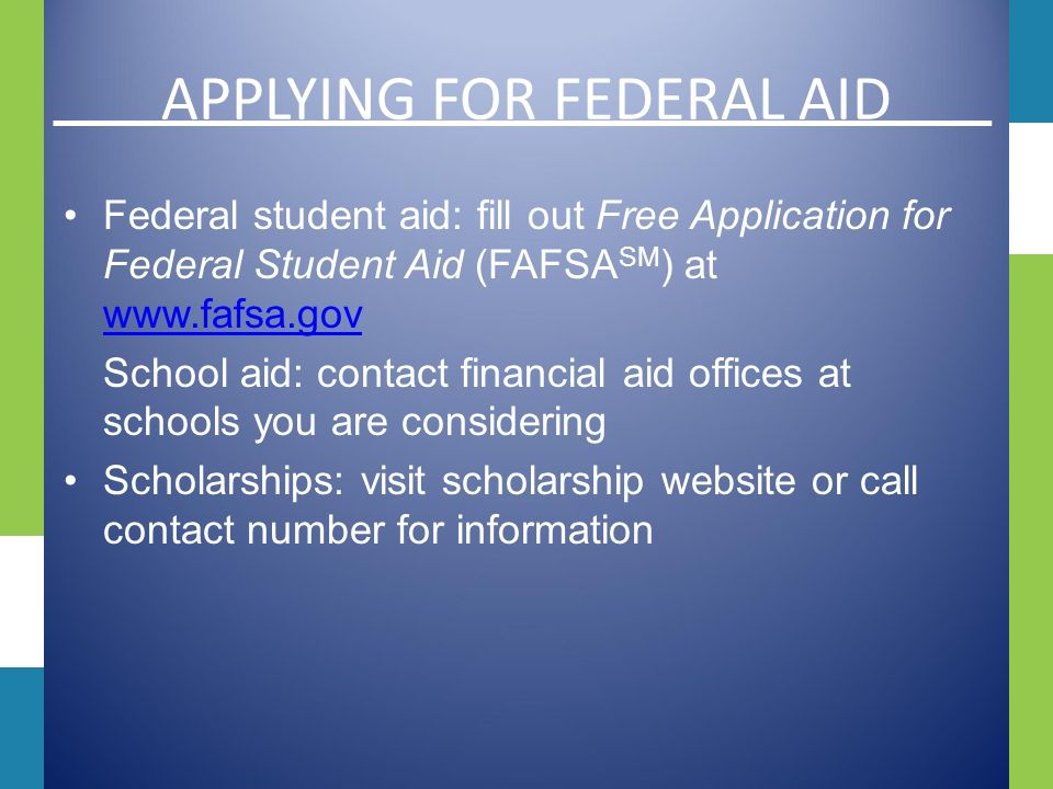 Maintaining Financial Aid How do I remain eligible for Financial Aid.
