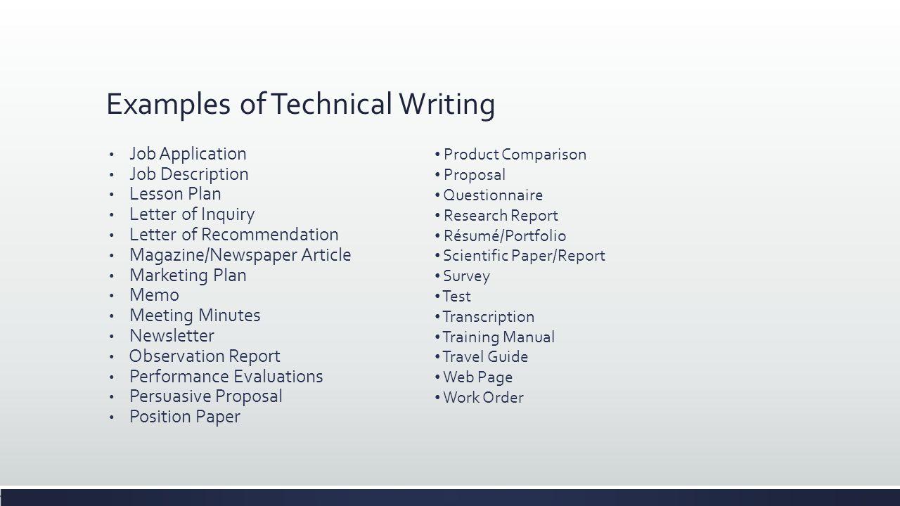 Personal Development for Communication Technology Pratik Man Singh – Technical Writer Job Description