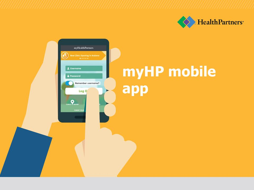 myHP mobile app