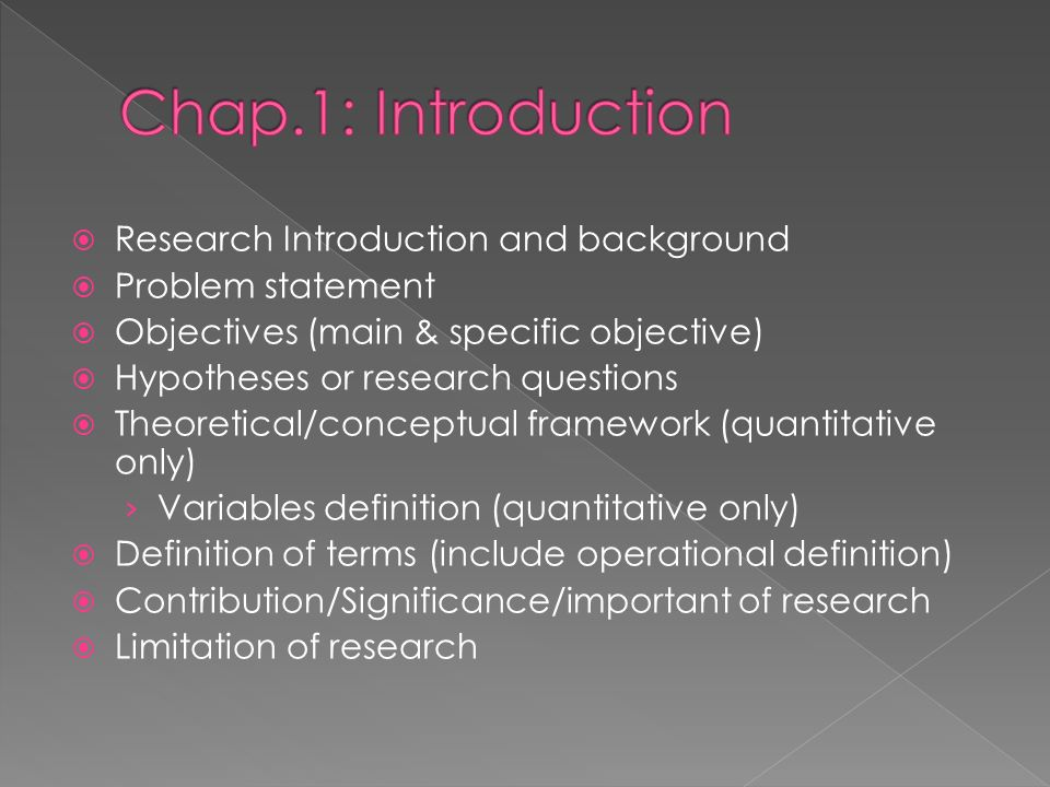 Theoretical dissertation methodology