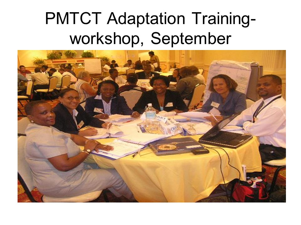 PMTCT Adaptation Training- workshop, September