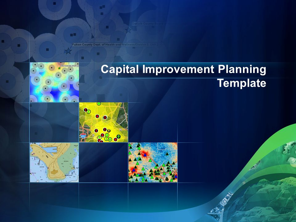 Capital Improvement Planning Template