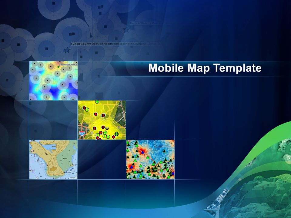 Mobile Map Template