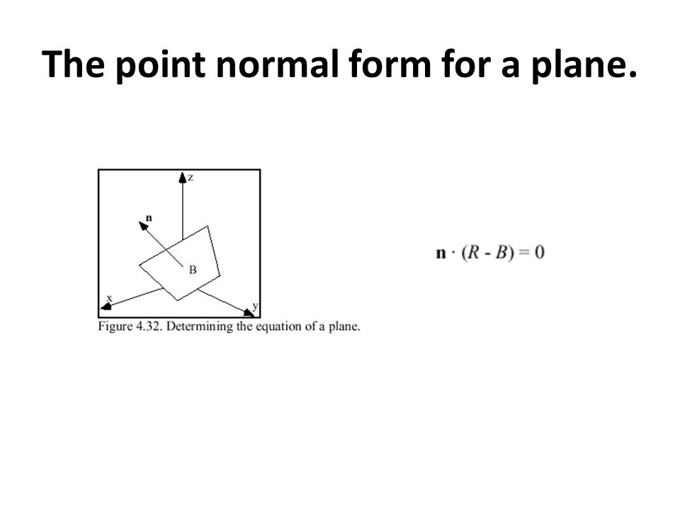 Vector Exercise. Parametric form for a line Passing two points ...