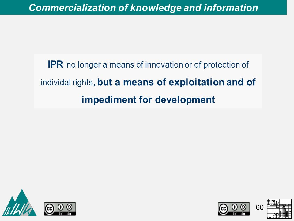 commercialization and education