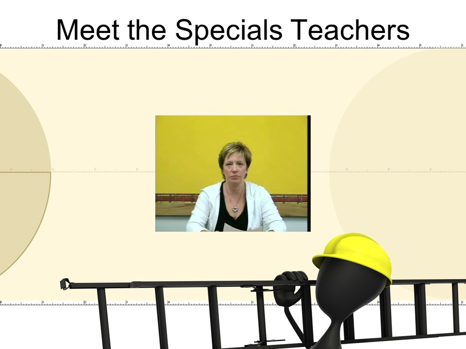 Meet the Specials Teachers