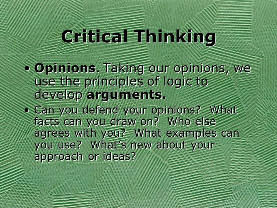 critical observation essay