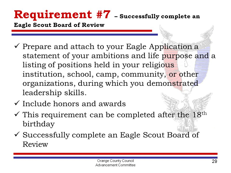 Printables Eagle Scout Requirements Worksheet letter of recommendation for eagle scout requirements math worksheet life to seminar adopted by the advancement committee orange recommendation