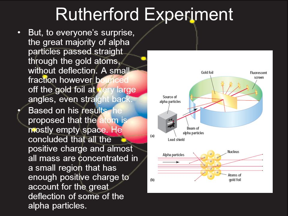 rutherfords gold foil experiment essay