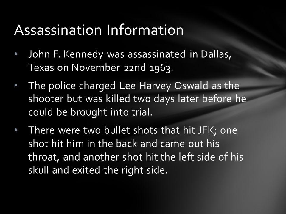dallas texas john f kennedy