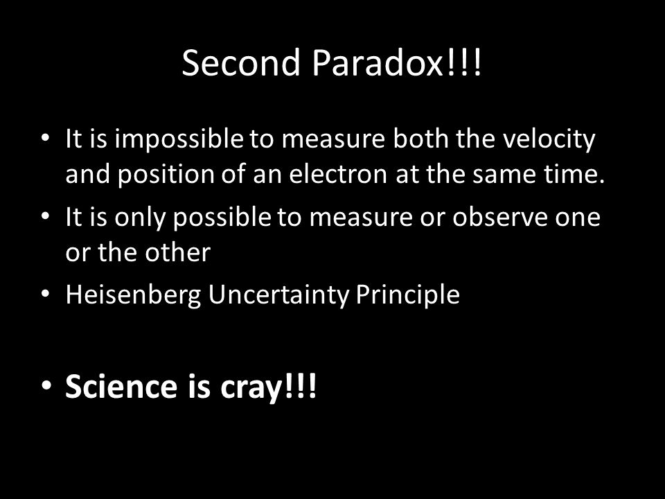 Second Paradox!!.