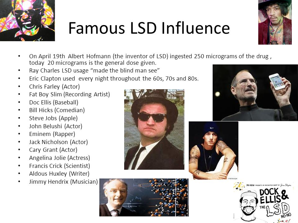 lsd presentation Tusko is a popular name given to elephants in captivity several notable elephants have been given this it is believed that the lsd was the cause of his death.