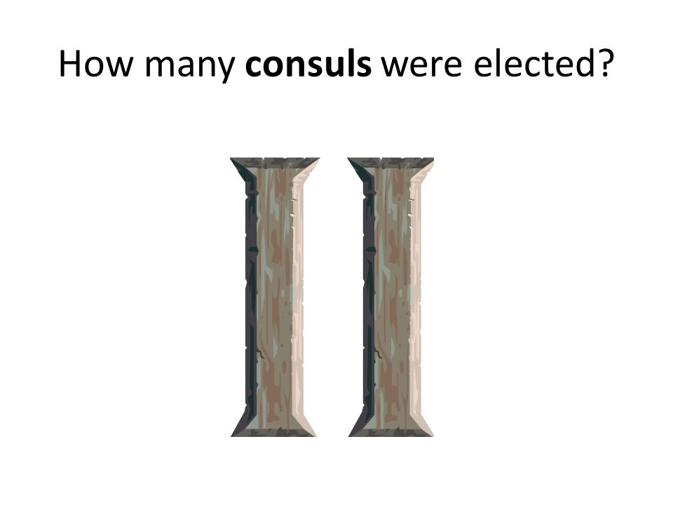 How many consuls were elected