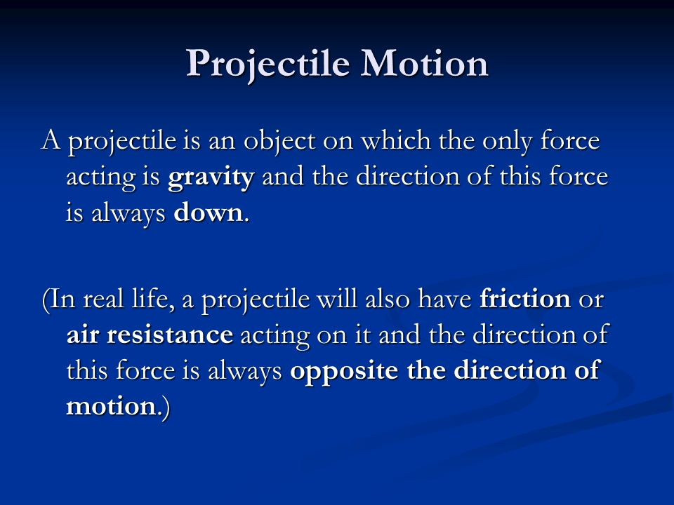 projectile motion 2 essay Projectile motion essays: over 180,000 projectile motion essays, projectile motion term papers, projectile motion research paper, book reports 184 990 essays, term and research papers available for unlimited access.