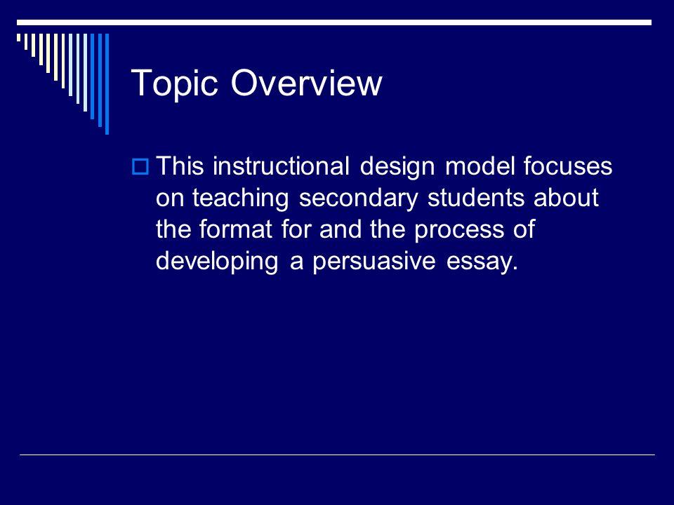 Pursuasive Essay Topics