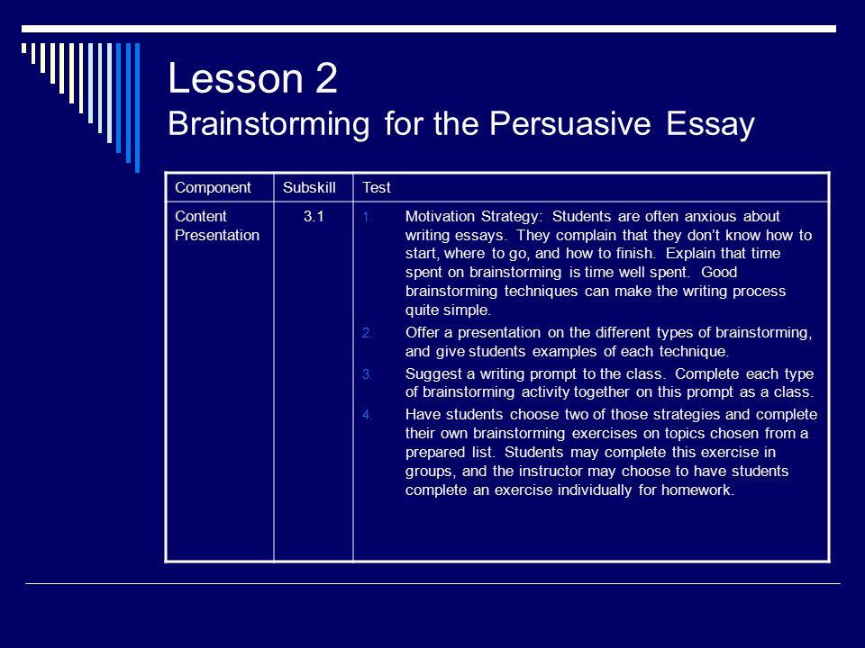 Dissertation Components