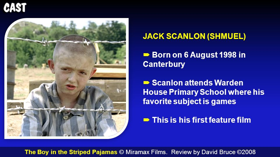 the boy in the striped pajamas the boy in the striped pajamas  4 jack