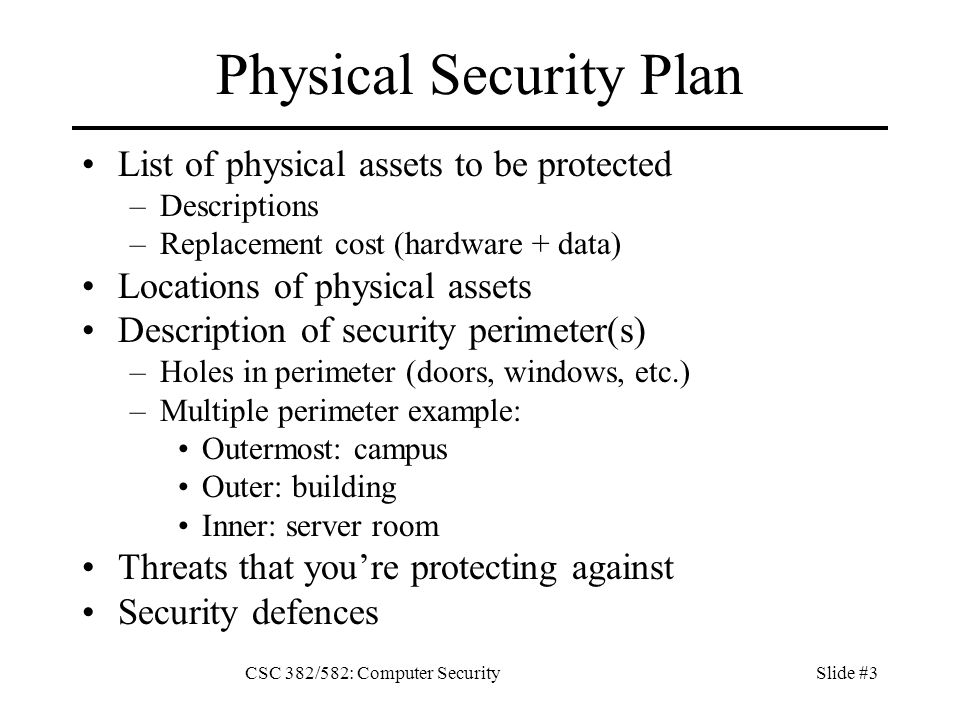 outstanding physical security plan template model professional