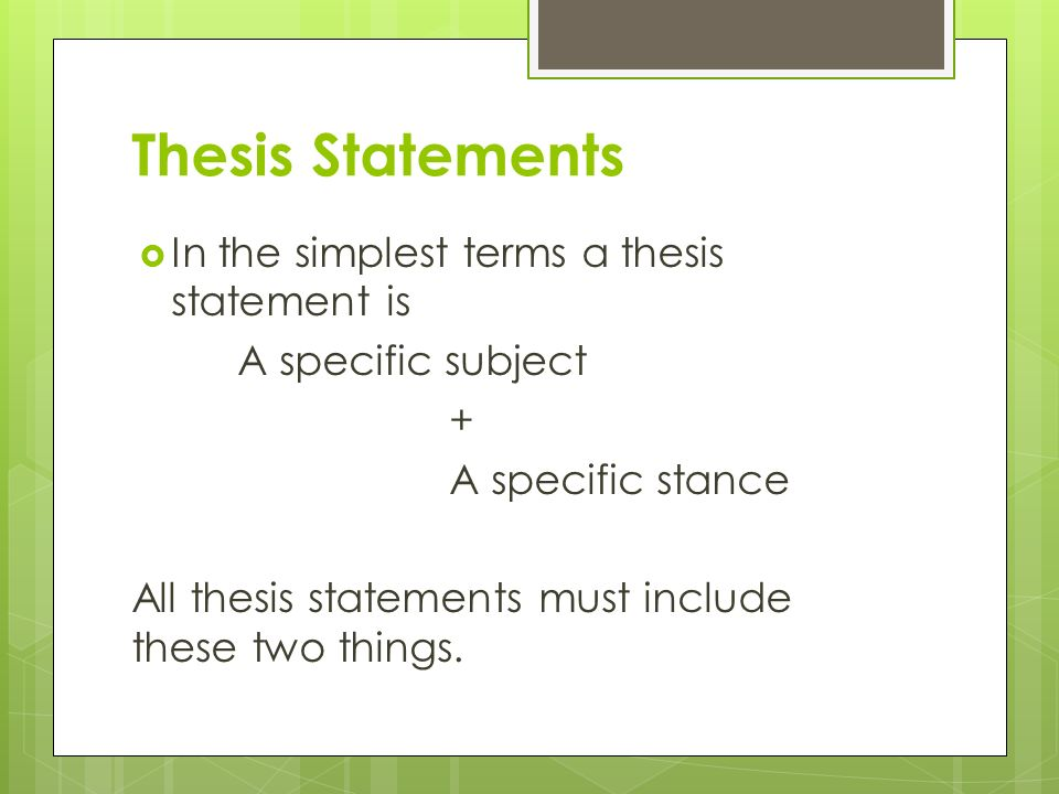 ozline thesis statements He now uses hire an ozlinecom thesis help expert phd thesis helper to write, edit, correct or format your thesis our thesis writing service is one of the best in the usa.