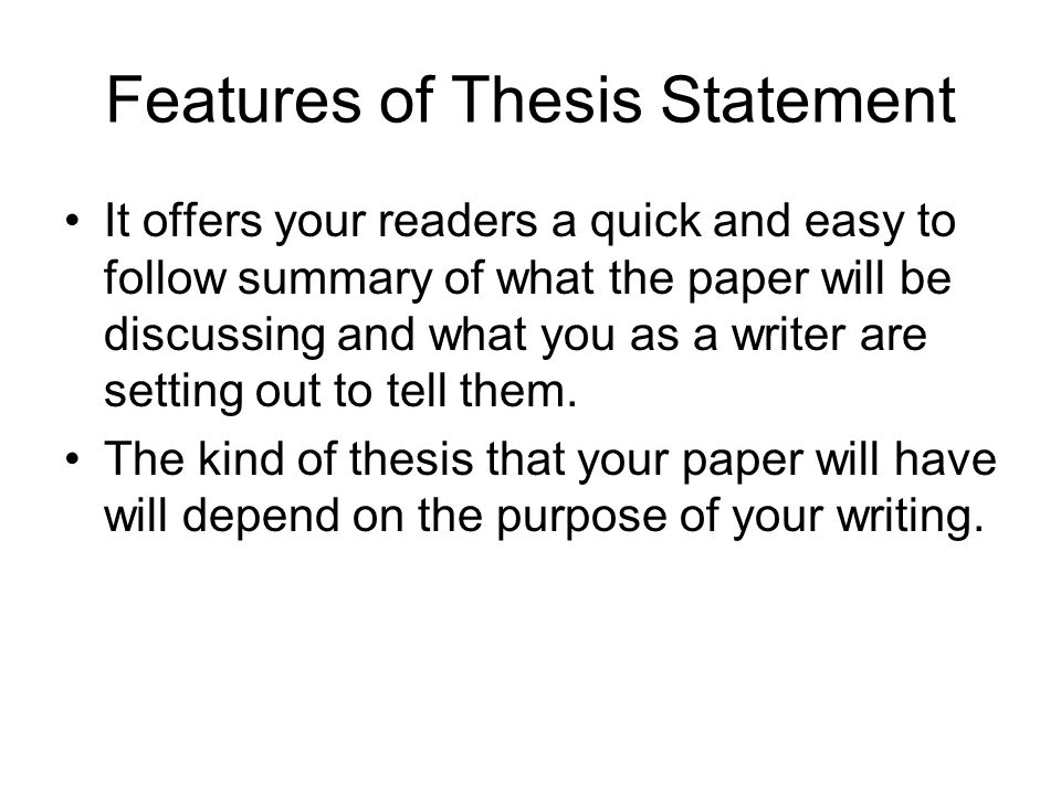 whats a thesis paper Here are the elements of a senior thesis paper, which is a large research project and written report to fulfill a graduation requirement.