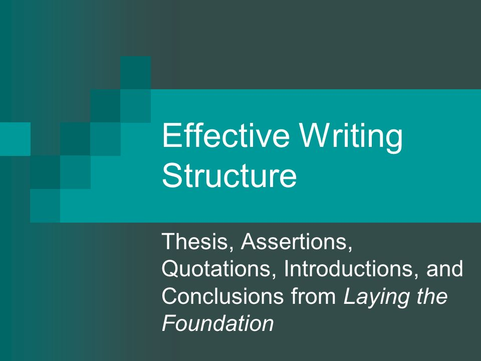 effective introductions essays