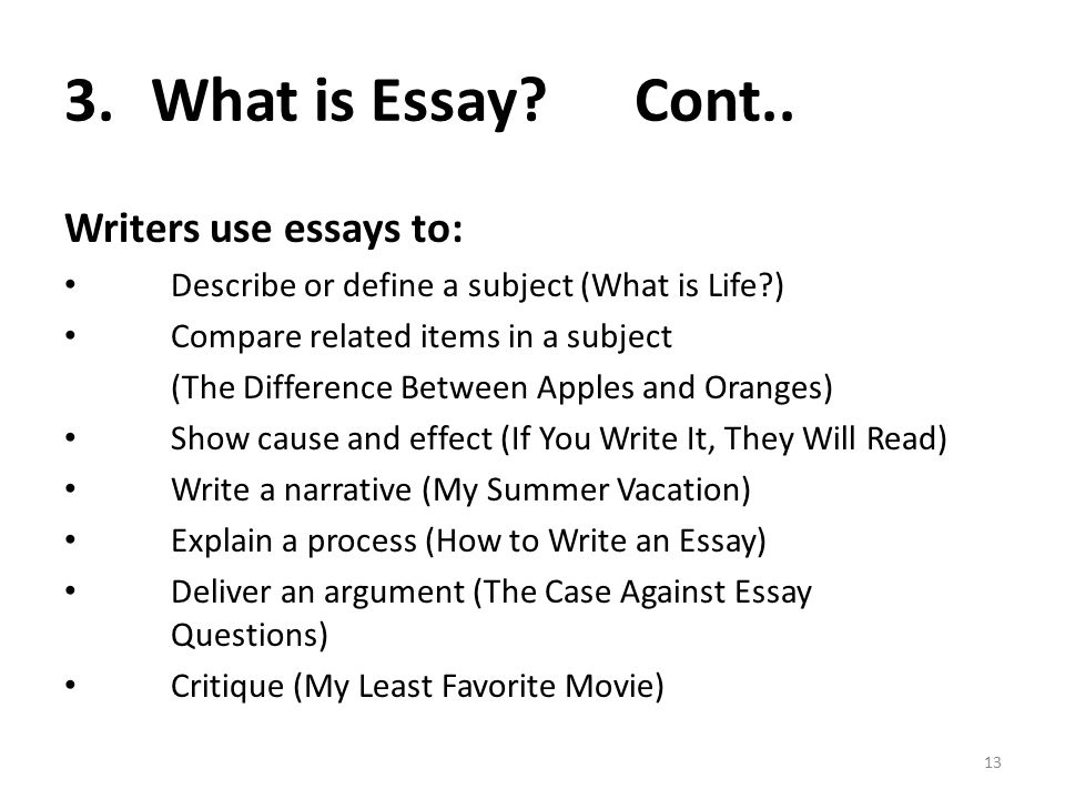 What is life essay