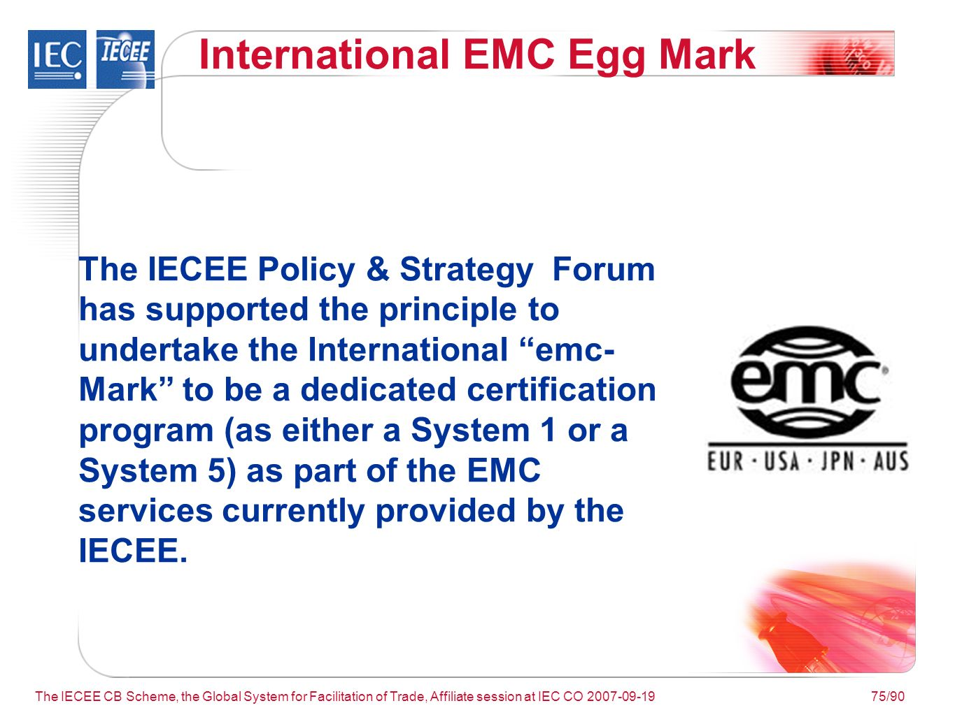 The iecee cb scheme the global system for facilitation of trade 75 the 1betcityfo Gallery