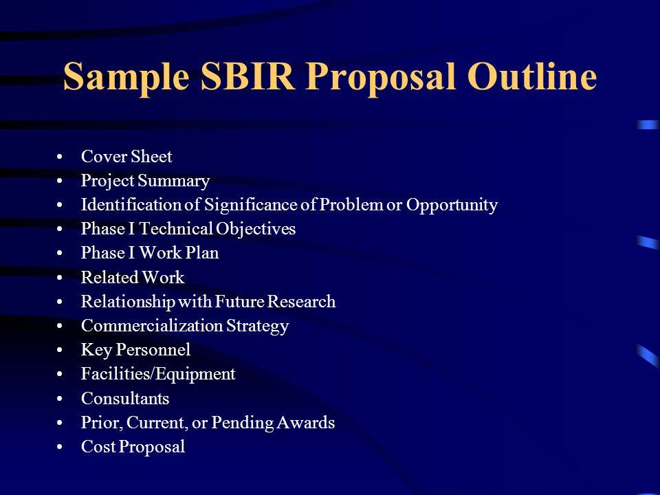 Sbirsttr Overview Charles Eason Sbirsttr Specialist Director