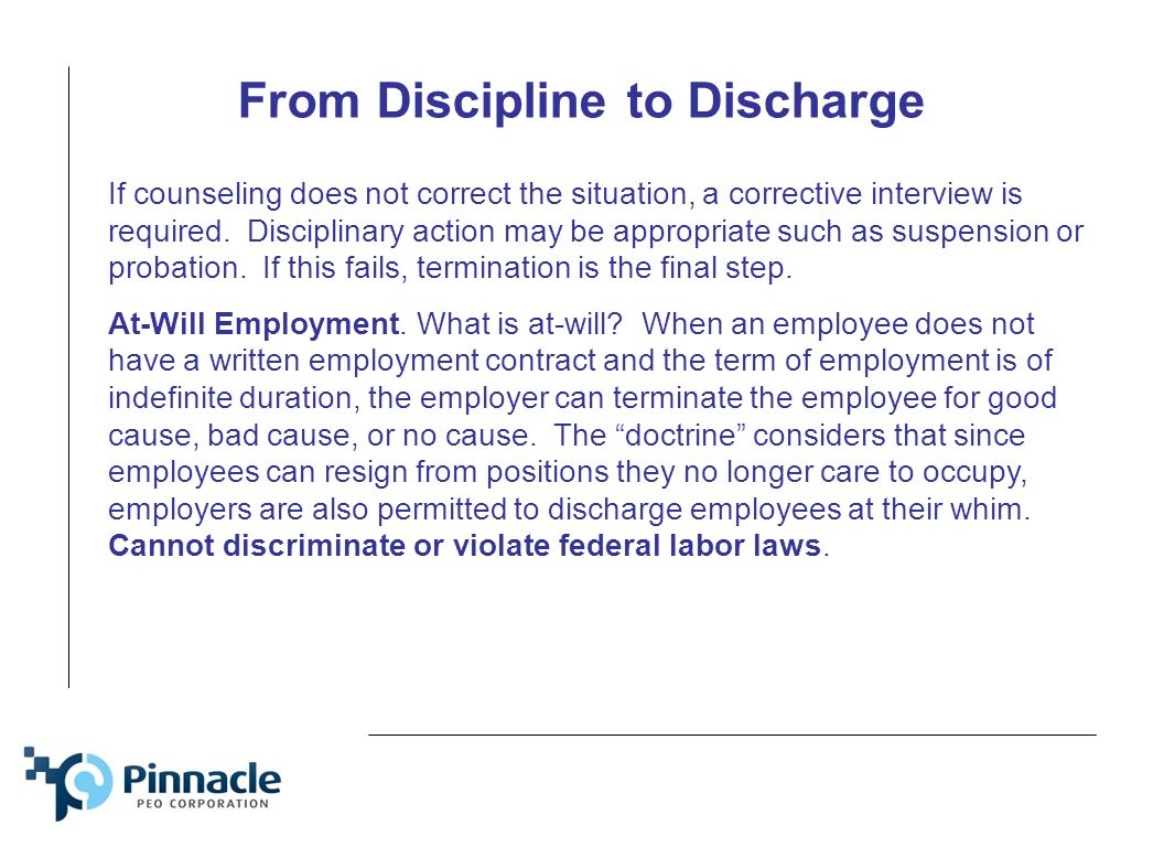 presentation and training for sport clips managers ppt from discipline to discharge if counseling does not correct the situation a corrective interview is
