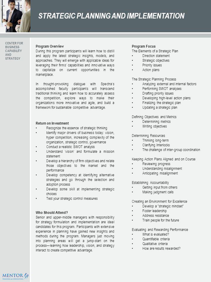 Business prospectus