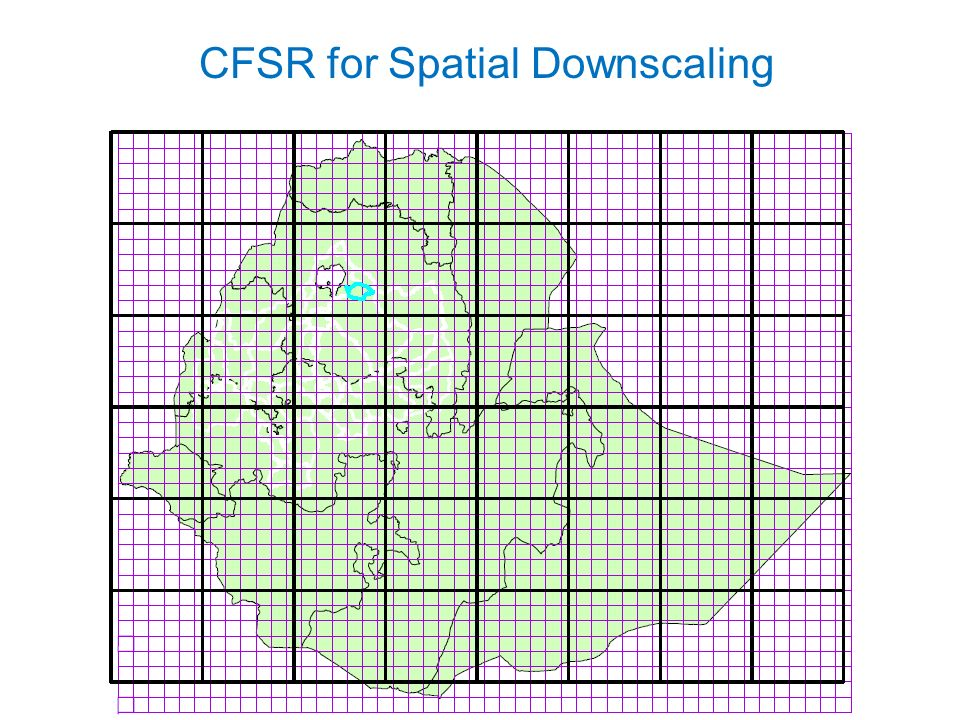 CFSR for Spatial Downscaling