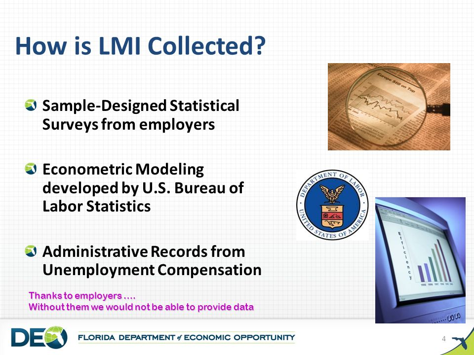 How is LMI Collected.