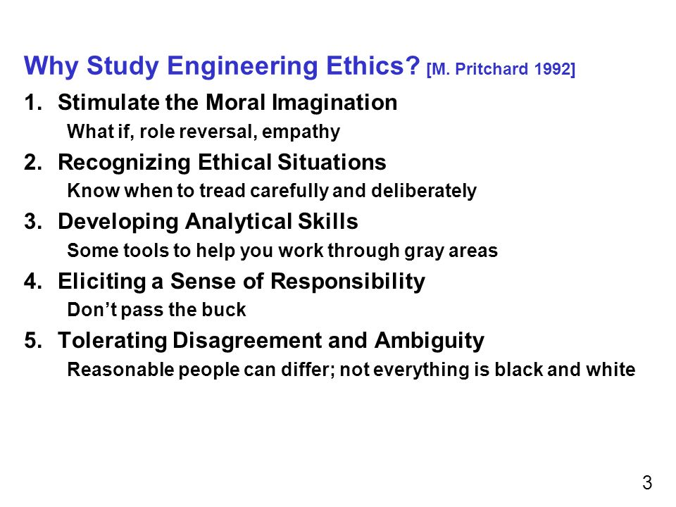 "senses of engineering ethics The study of the moral values, issues, and decisions involved in engineering practice the moral values ""engineering ethics has many senses"" micro-ethics."
