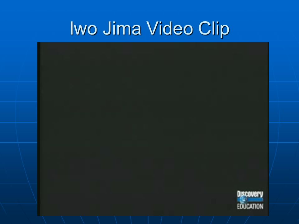 Iwo Jima Video Clip