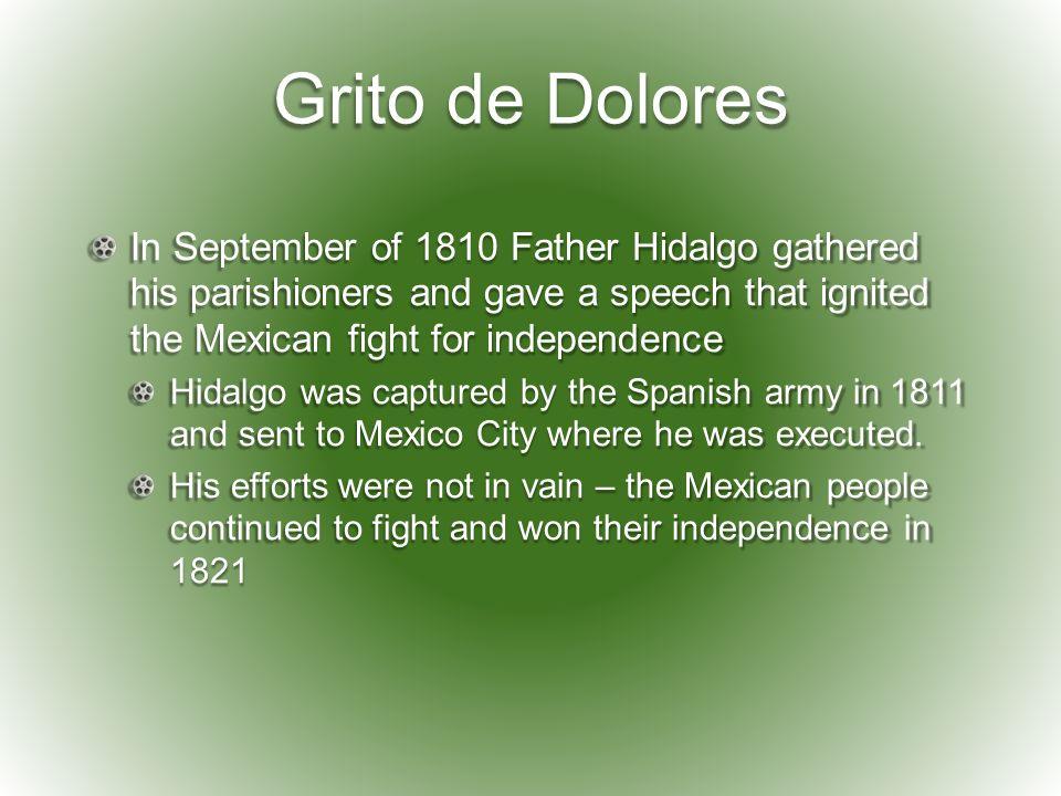 Father Hidalgo Speech