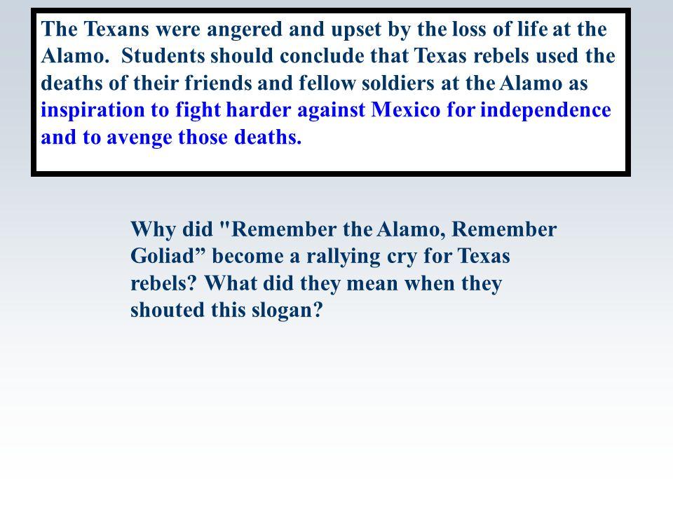 Battle of the Alamo essay.?