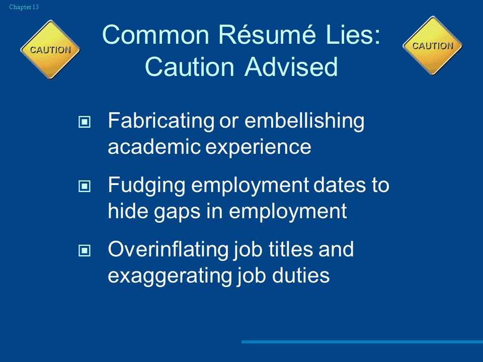 employment dates on resumes