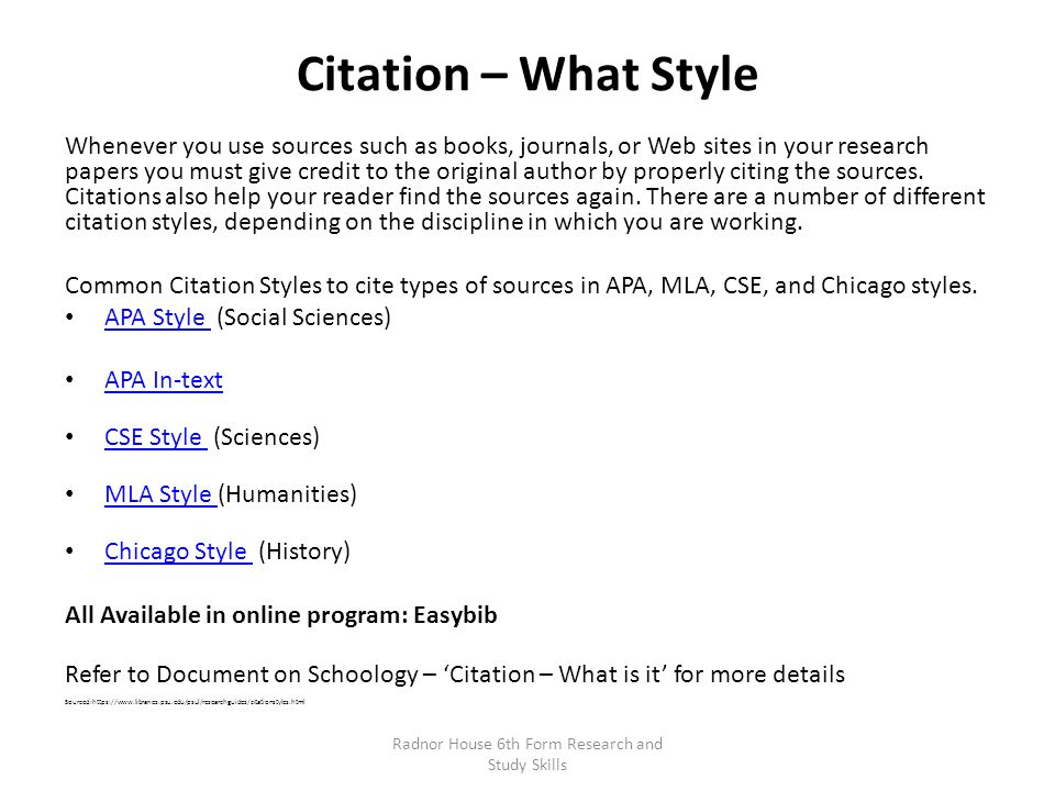 Chicago Dissertation Citation