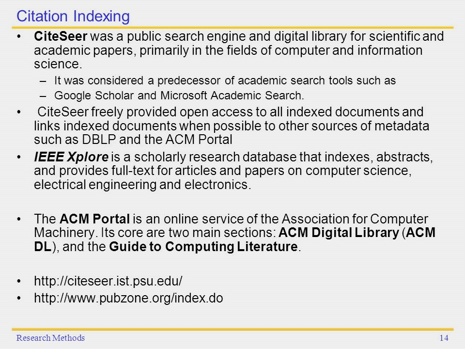 Search academic papers