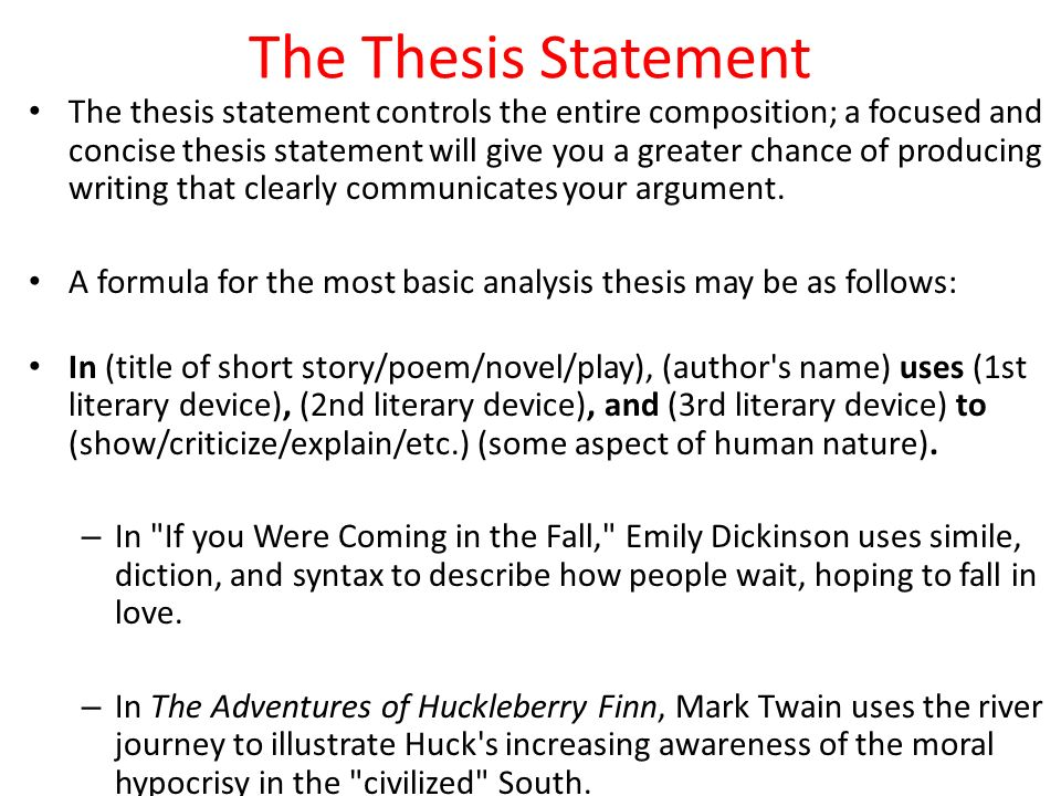 I am doing research paper on animal poaching what is a good thesis statement?