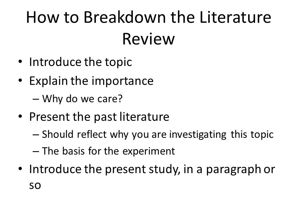 literature review writing service Reliable literature review writing service a literature review involves reading and reporting on the most current and relevant studies related to a specific area of interest one conducts a literature review as a step in completing one's own research project.