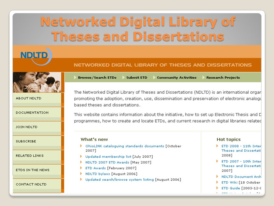 Digital Libraraies Dissertation