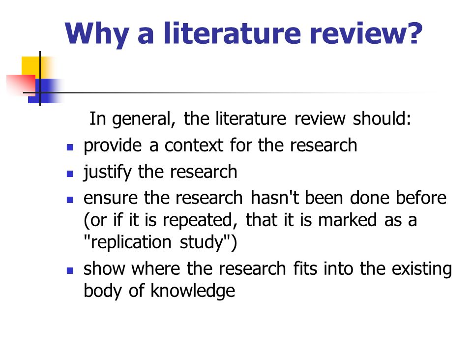 apa literature review sample paper