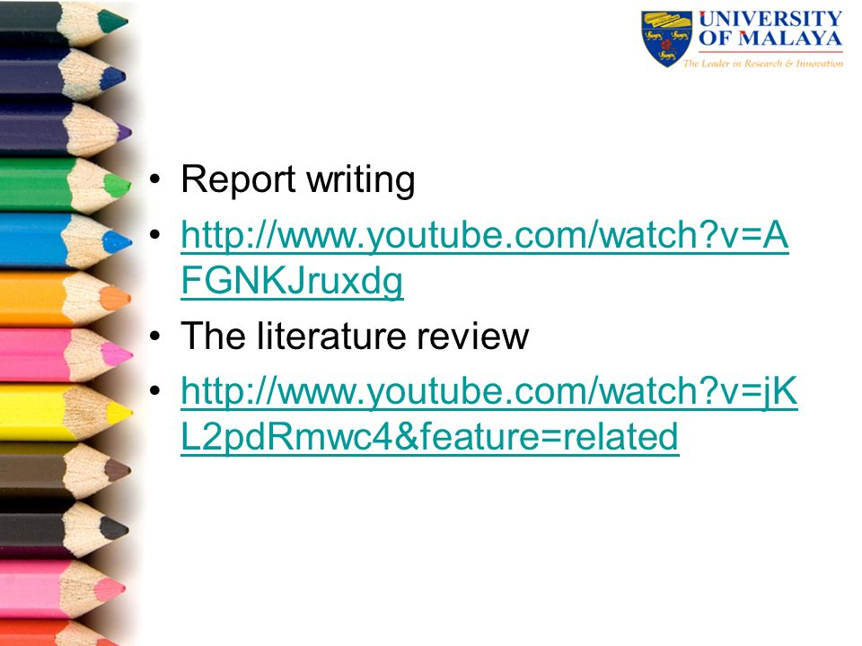Importance literature review