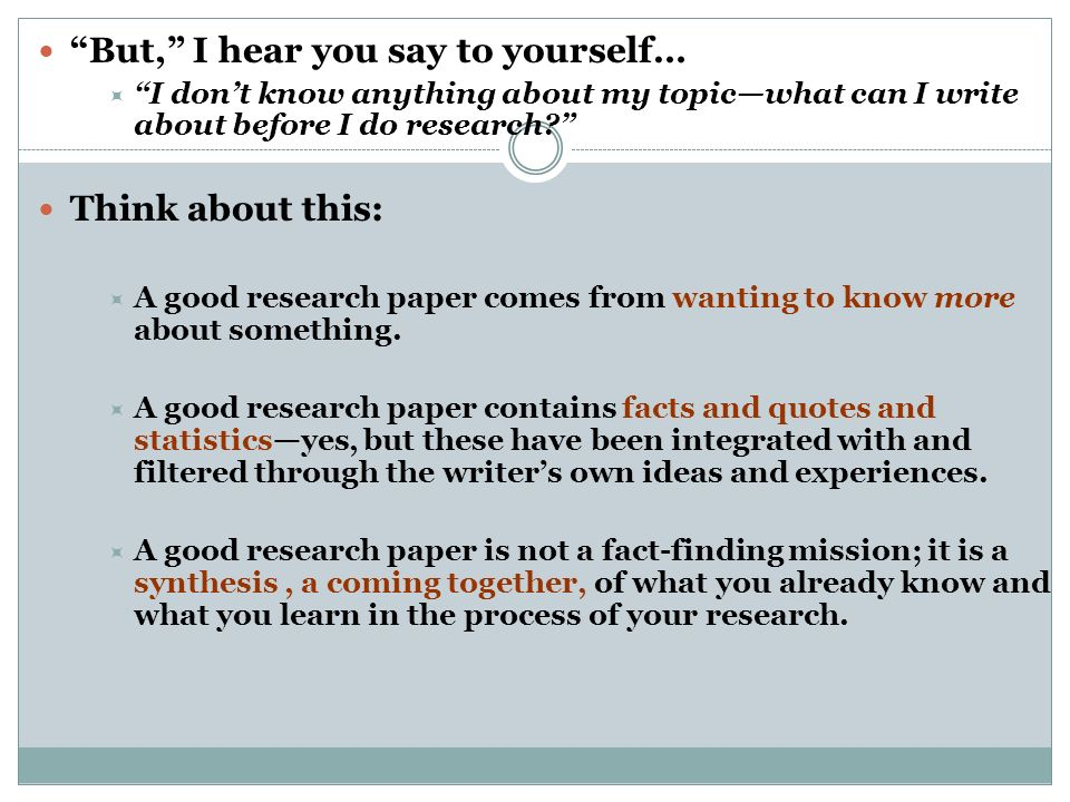 What Can You Learn From Writing A Research Essay